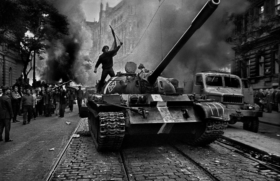 Prague, August 1968 by Josef Koudelka