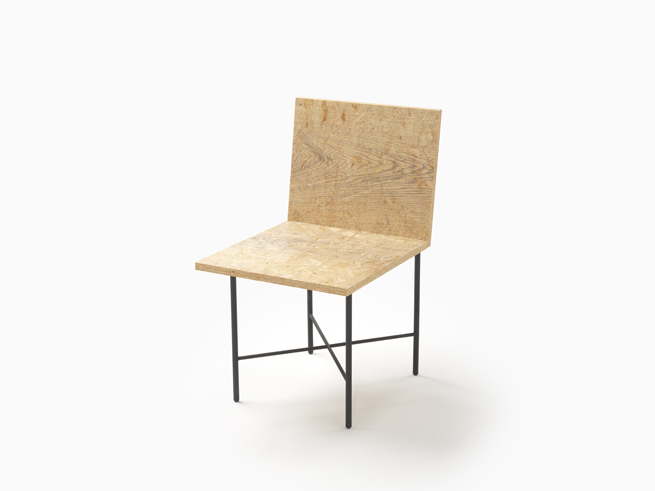 Nendo's Print chair