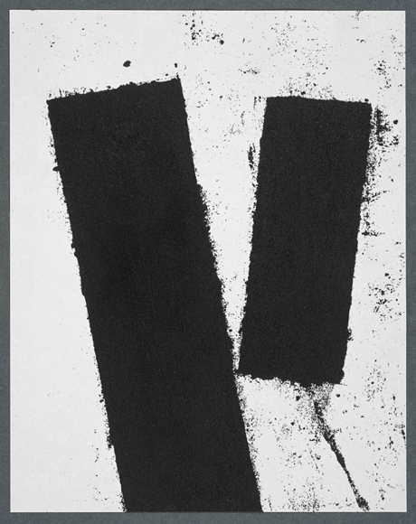 RICHARD SERRA Promenade Notebook Drawing for Obama, 2008