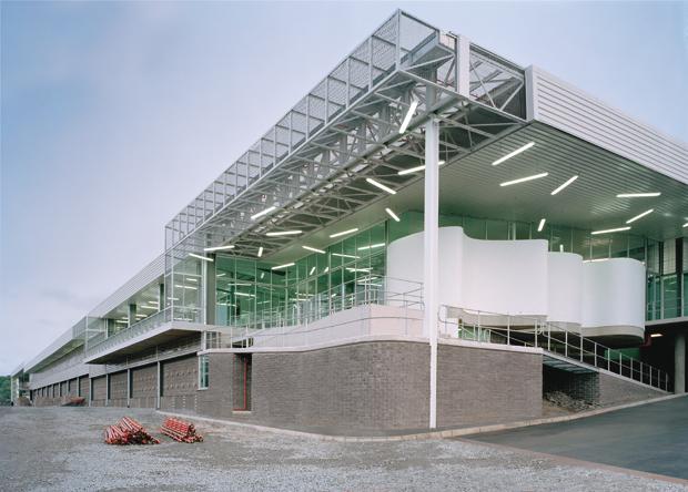 The Proud Heritage clothing campus factory, by Don Albert and Partners, as featured in the Phaidon Atlas
