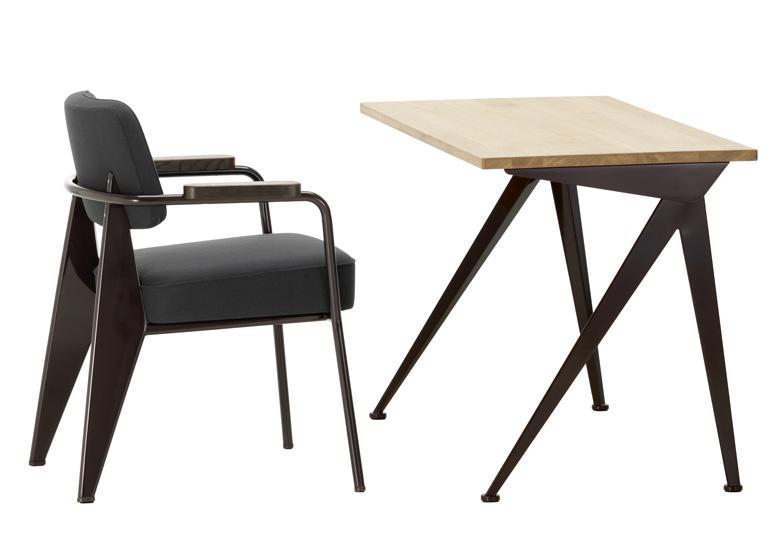 hella jongerius updates prouv classics for vitra design. Black Bedroom Furniture Sets. Home Design Ideas