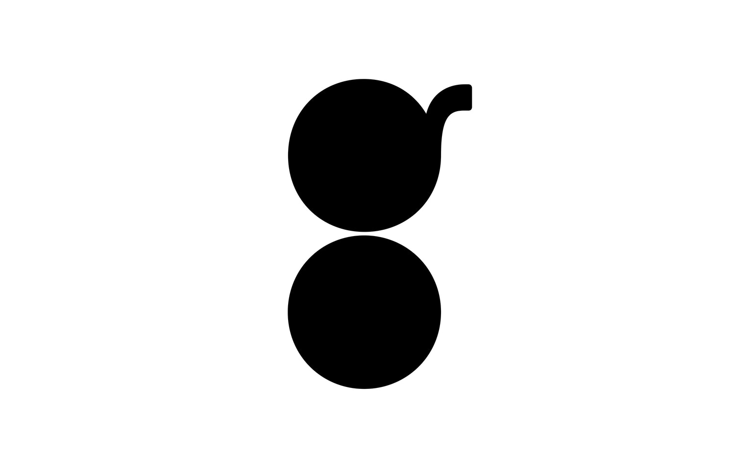 Paula Scher's new lower-case 'g' logo for Tender Greens. All images courtesy of Pentagram and Tender Greens