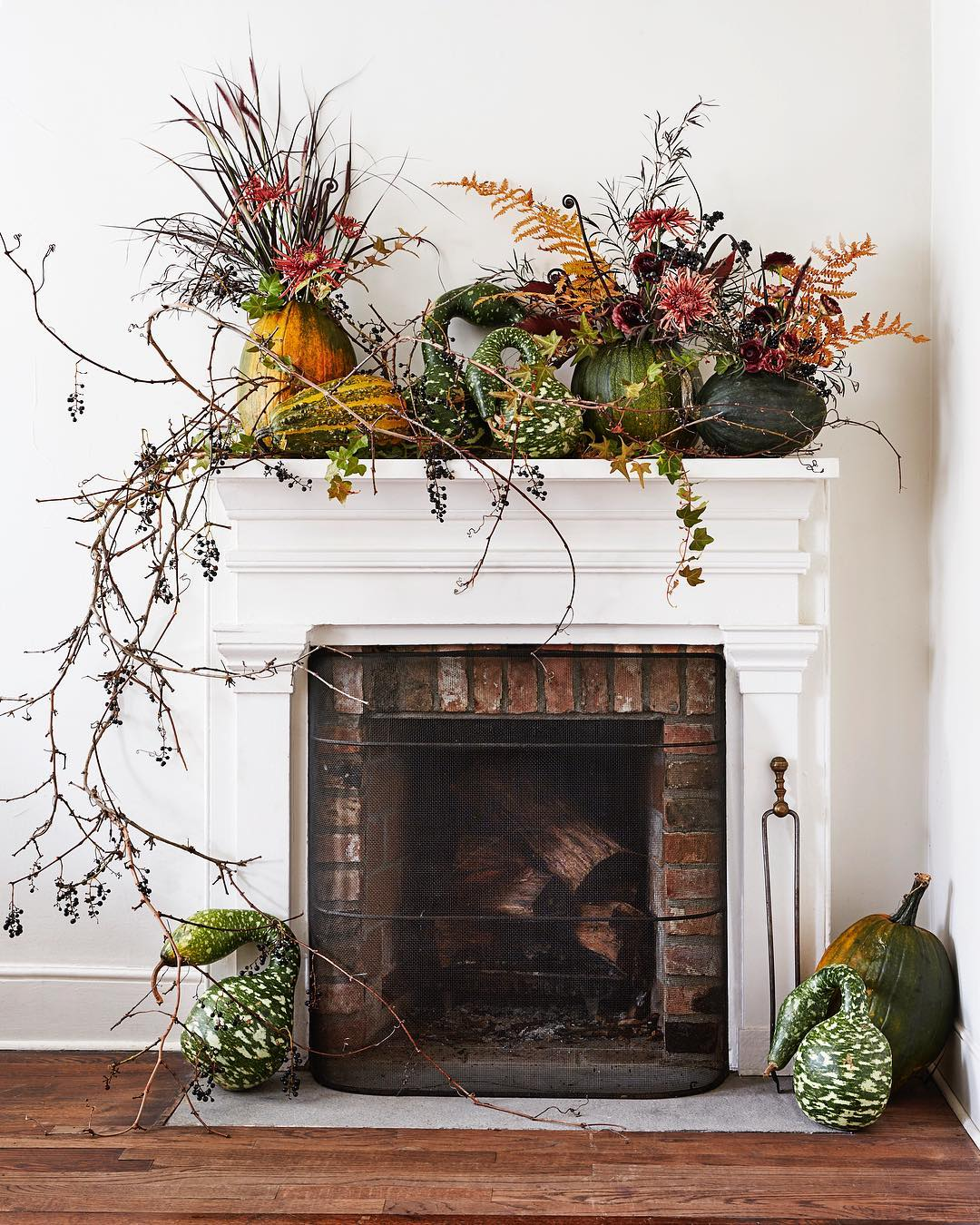 Putnam & Putnam's decorative mantel in this month's issue of Martha Stewart Living. Image courtesy of Putnam & Putnam's Instagram
