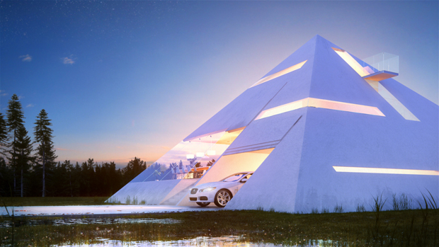 Mexican architect rethinks the Egyptian pyramids