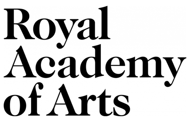Royal Academy of Arts logo - Pentagram