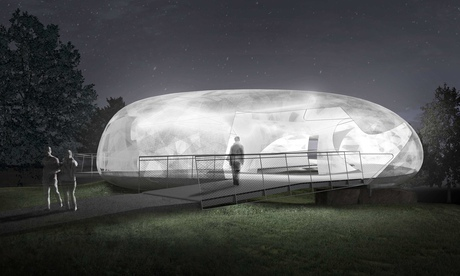 Smiljan Radic's plans for the 2014 Serpentine Pavilion