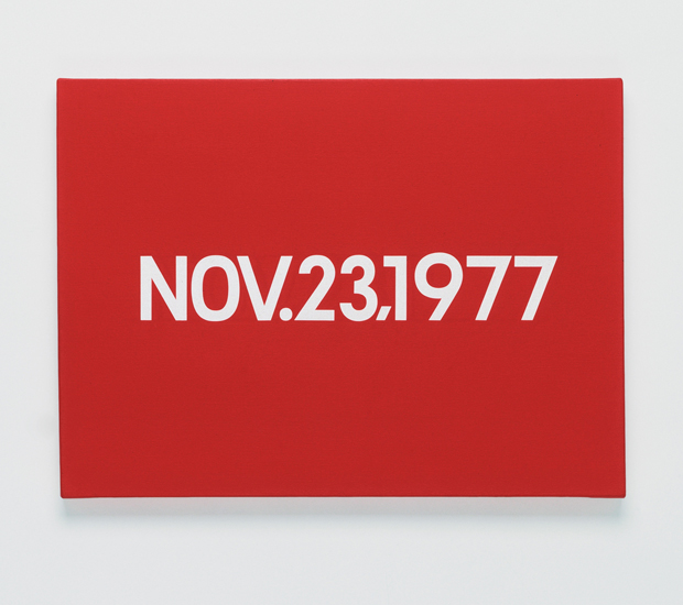 On Kawara, NOV 23 1977 (1977) - from the Today series