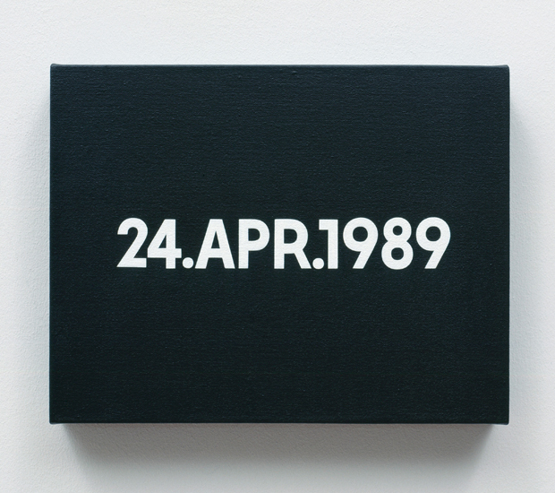 On Kawara, 24 APR 1989 (1989) - from the Today series