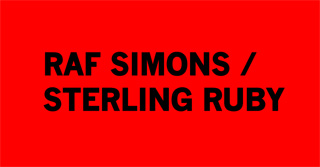 The label for Raf Simons/Sterling Ruby's new range