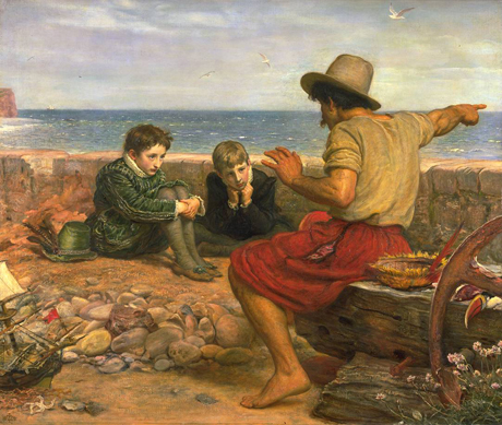 Millais' The Boyhood of Raleigh (1861)