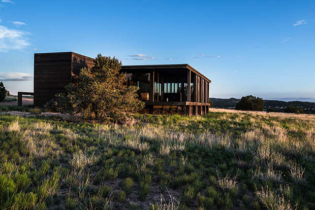 Tom Ford's Santa Fe ranch, designed by Tadao Ando. Courtesy of the Kevin Bobolsky Group.