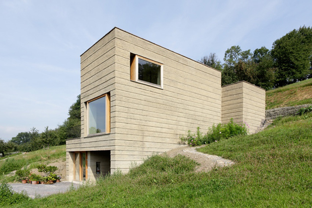 Modern mud house architecture