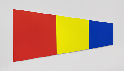 Red  Yellow Blue V (1968) by Ellsworth Kelly