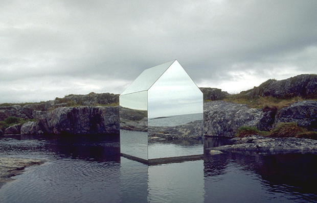 Mirror House. From Nanotecture