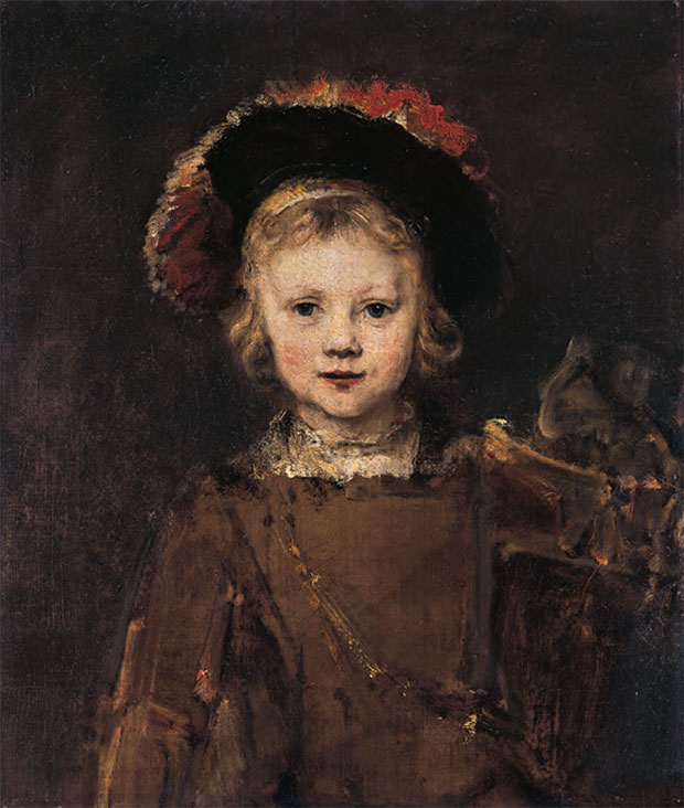 Rembrandt van Rijn (1606–1669), Portrait of the Artist's Son Titus, c.1655, oil on canvas, 65 x 56 cm (24½ x 20½ in) SALE 19 March 1965, London