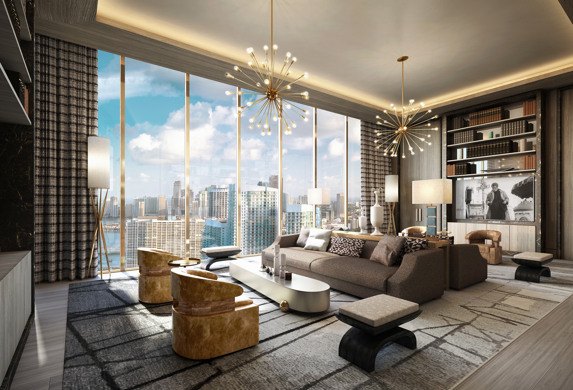 Renderings For Elysee Miami