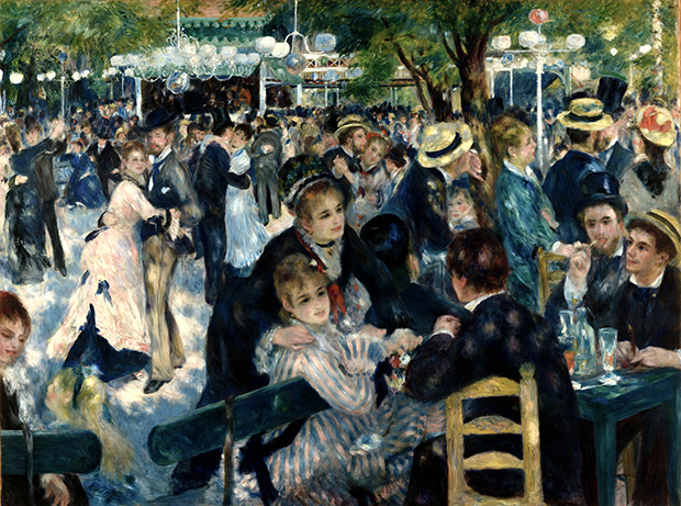 How Renoir captured the countryside in the city