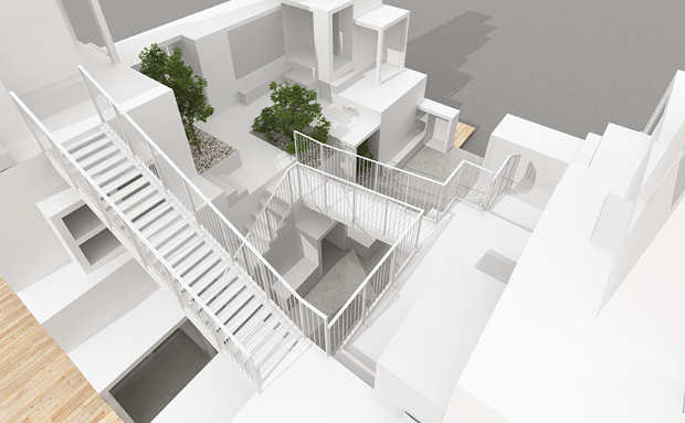Rent Space Tower By Sou Fujimoto. Image Courtesy Of House Vision.jp