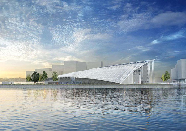 The Astrup Fearnley Museet by Renzo Piano