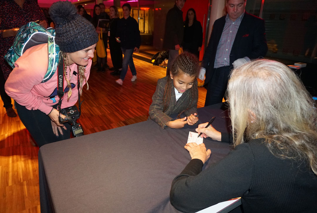 Here's Farouk getting his book signed at The Royal Festival Hall - he was a fun little fellow! - Photo Bonnie Beadle