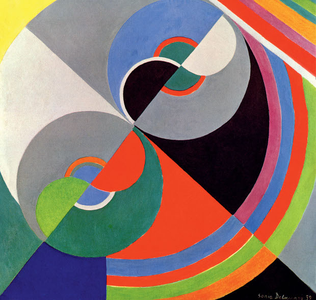 Sonia delaunay planes prints and automobiles art for Poster contemporain