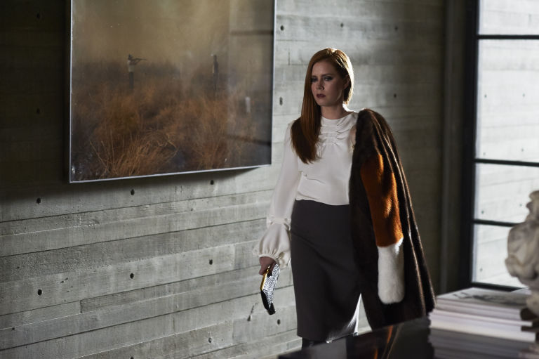 Amy Adams in Nocturnal Animals, beside a photograph by Richard Misrach. Photograph by Merrick Morton, courtesy of Focus Features