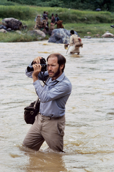 Steve McCurry shooting in Nepal, from Untold