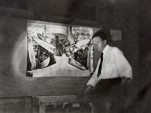How diego rivera tried to paint the future art agenda for Diego rivera rockefeller center mural