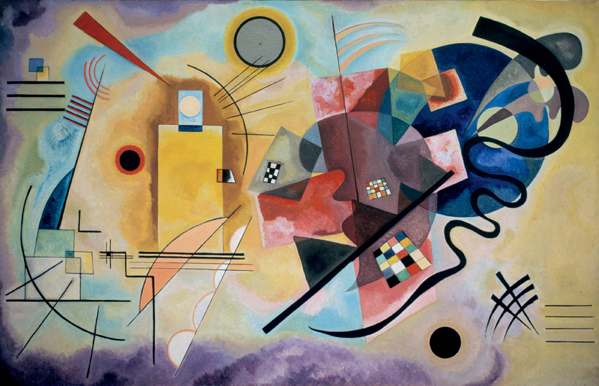 Wassily Kandinsky, Yellow-Red-Blue (1925)