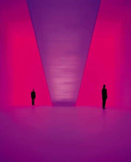 James Turrell, Bridget's Bardo (Ganzfield Piece) (2008)