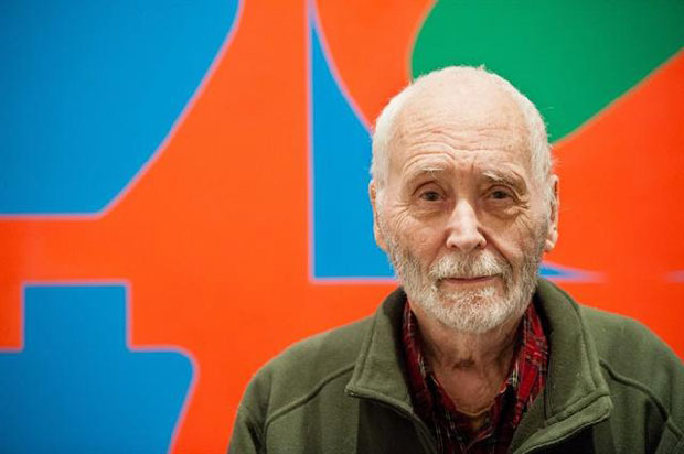 Robert Indiana with Love