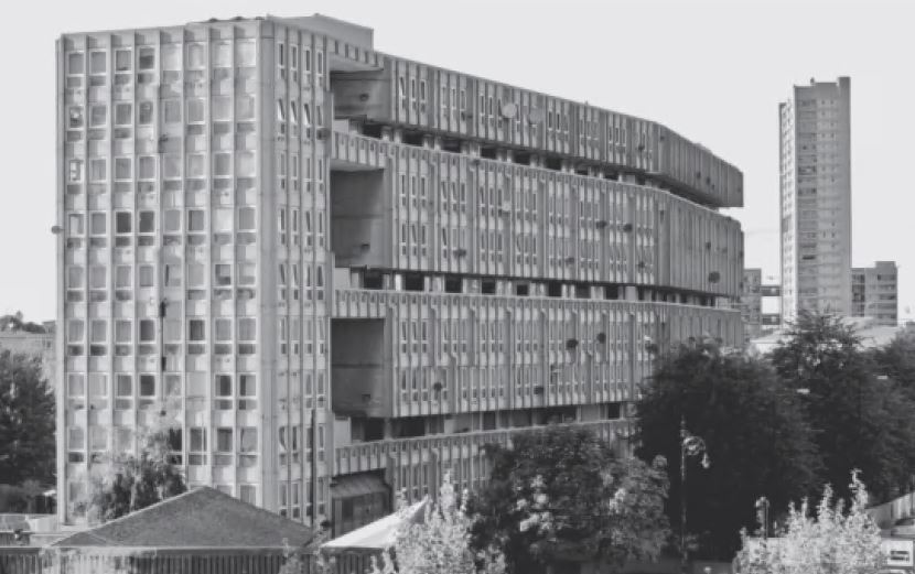 Robin Hood Gardens, London, UK, 1972, by Alison and Peter Smithson