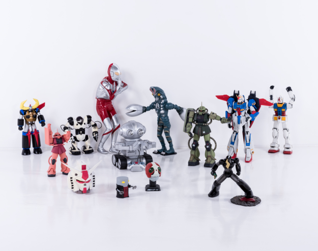 A collection of Japanese robots from Alexandre de Betak's forthcoming sale