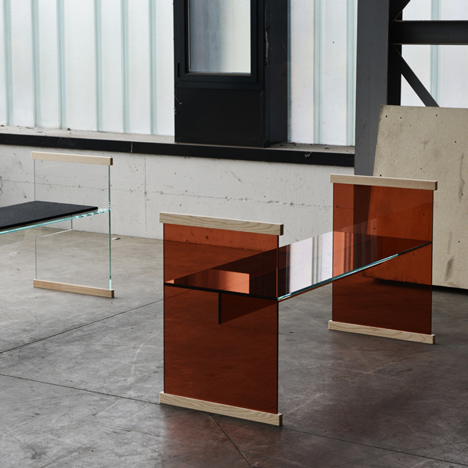 The Bouroullec's Diapositive collection for Glas Italia