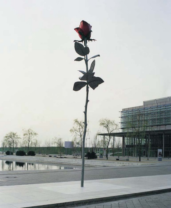 Rose (1997) by Isa Genzken, as featured on the cover of our monograph