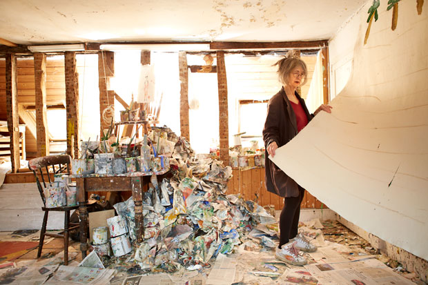 Rose Wylie. Photo by Joe McGorty