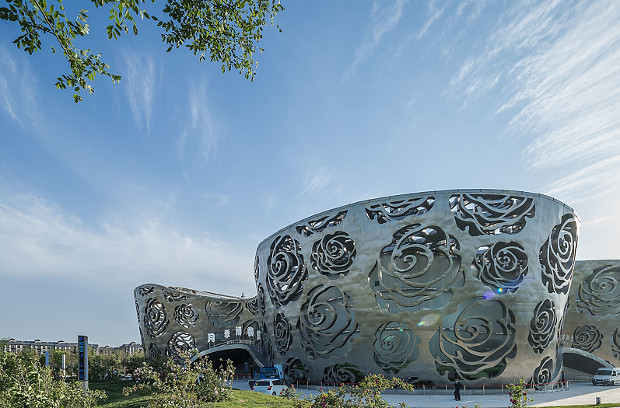 NEXT Architects' Rose Museum, Beijing. Photographs by Xiao Kaixiong courtesy of Next Architects