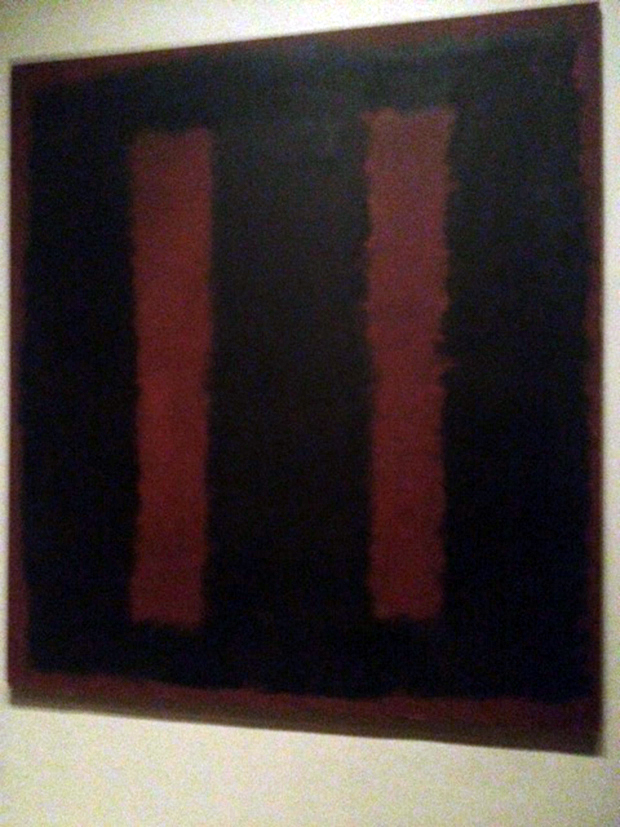 Restored: Rothko's Black on Maroon (1958)