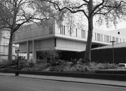 The Royal College of Physicians, Denys Lasdun & Partners, 1964. All images featured in Atlas of Brutalist Architecture