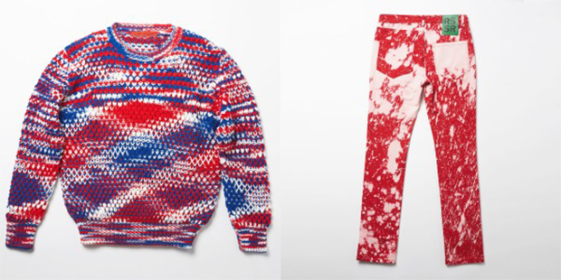 This week's offerings at Sterling Ruby and Raf Simons' online clothing shop