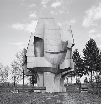 Šušnjar Memorial Complex, Sanski Most, Bosnia and Herzegovina, 1971, by Petar Krstic