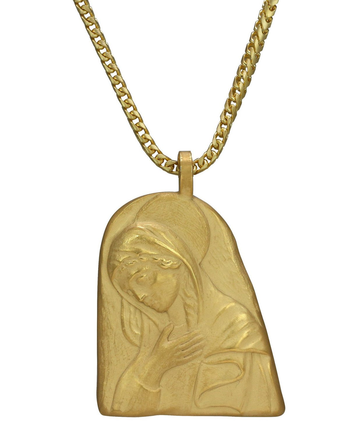 One of the Renaissance-inspired pieces from Kanye West's new Yeezy jewellery collection, at yeezysupply.com
