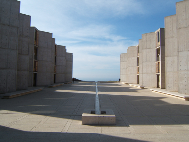 Louis I. Khan's The Salk Institute - featured in the wonderful book Concrete
