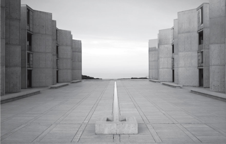 The Salk Institute by Louis Kahn, as featured in our new Atlas of Brutalist Architecture