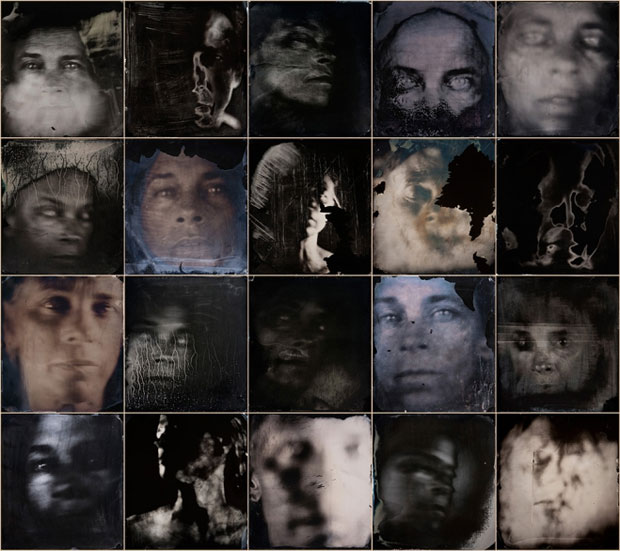 Untitled (self portraits) (2006-12) by Sally Mann
