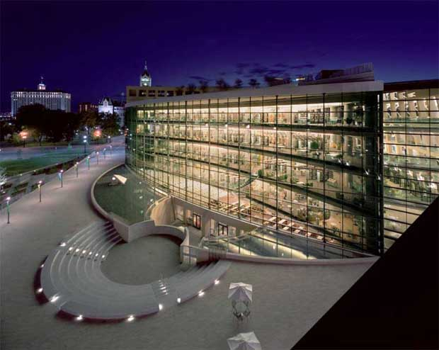 Salt Lake City Public Library by Safdie Architects (2003)