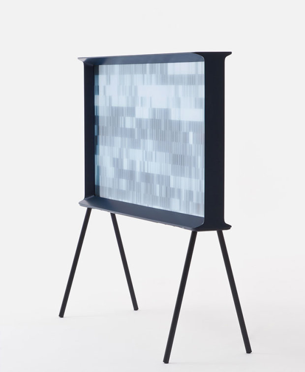 Samsung's Serif TV by Ronan and Erwan Bouroullec