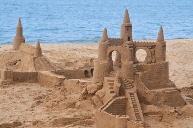 Sandcastle building, the RIBA way