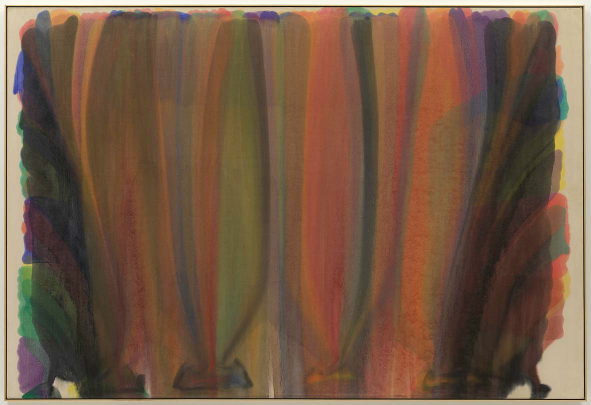 Saraband (1959) by Morris Louis. As reproduced in Art in Time