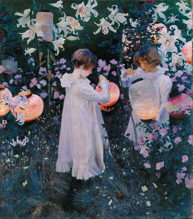 Lily, Lily, Rose (1885-6) by John Singer Sargent